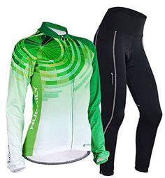 Nuckily Women's Cycling Long Sleeve Jersey Pants M - http://ridingjerseys.com/nuckily-womens-cycling-long-sleeve-jersey-pants-m/
