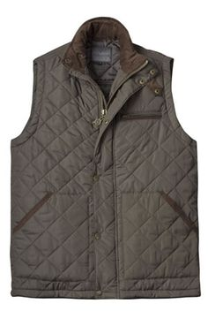 NEW! Mens Green Quilted Gilet by Vedoneire (custom styled for a neater fit). Available in green and navy. £39.99