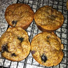 Healthy muffin to have with eggs in the morning. Excellent with almond butter, too!