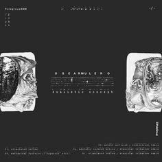 """Artist: Óscar Mulero. Title: """"Dualistic Concept EP"""". Label: PoleGroup."""