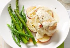 This delish cheesy chicken is a perfect weeknight meal – less than half an hour before it's ready to eat!