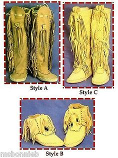 Native American Shawnee Indian Moccasin Sewing Pattern - Ankle or Knee High Native American Moccasins, Native American Clothing, Native American Crafts, Native American Indians, American Apparel, Native Indian, Shawnee Indians, Over Boots, Moccasin Boots