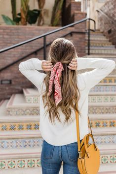 scarves in hair