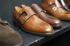 http://chicerman.com  dandyshoecare:  Here you are the tasty details of PITTI 85 discoveries for you from Dandy Shoe Care.  Follow us on Tumblr to find only the best of the world of shoes!  To be continued  A special thanks to my friends shoemakers Bow Tie  #menshoes