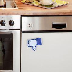 Dishwasher magnet. Clever! …
