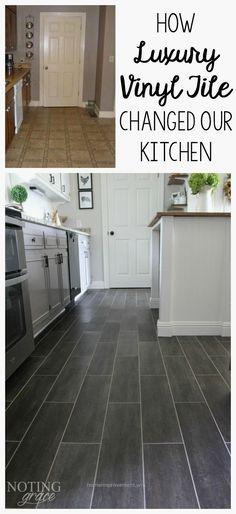 Vinyl plank flooring thats waterproof lays right on top of your a los usuarios tambin les encantan estas ideas solutioingenieria Images