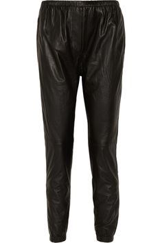 3.1 Phillip Lim | Tapered leather pants | NET-A-PORTER.COM