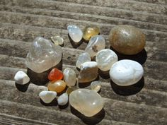 Agate Beach, CA- It's one of the most relaxing things I've done. Laying on the beach and sifting through the rocks looking for agates :)