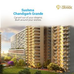 A premium residential project that is an extension of your dreams. Experience dream living in #Zirakpur, Experience Sushma #ChandigarhGrande! Luxury apartments up to Rs.1.11 Cr. To book your dream living, click here www.sushmagrande.com #RealEstate #Apartments #Grande #DreamLiving #Luxury#PremiumHomes