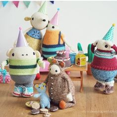 We've just heard that @deestraperlo will be leaving Amsterdam. We will miss her occasional craft night crochet escapades. Check her feed for more adorable #amigurumi creations.