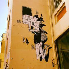 Inspirational Street Art on the Walls of Tel Aviv