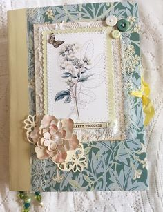 Excited to share this item from my #etsy shop: spring junk journal. 10% discount now on . Link in bio Junk Journal, I Card, About Me Blog, Etsy, Scrapbooking