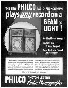 Philco Photo-Electric Radio-Phonograph —1940