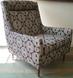 Mid Century Modern Lounge Chair Paul McCobb Style by ColibriFinds, $820.00