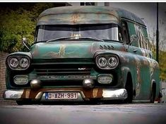 Rat Rods, Customised Trucks, Custom Trucks, Old Pickup Trucks, Hot Rod Trucks, Jeep Truck, Chevy Trucks, Chevrolet Apache, Rims For Cars