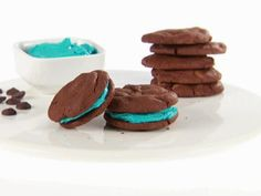 Get Chocolate Sandwich Cookies Recipe from Food Network