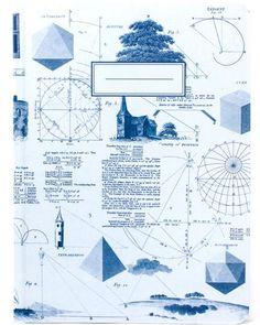 Geometry Vintage Hardcover Journal - Cognitive Surplus - 1