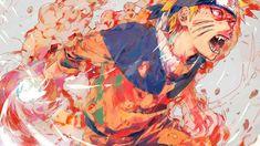 Young Naruto Uzumaki, enveloped in the Kyuubi's chakra. Naruto Uzumaki, Sasunaru, Naruhina, Anime Naruto, Fan Art Naruto, Kakashi Hokage, Hinata, Madara Uchiha, Super Anime