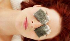 Sachets de thé vert Comment éliminer les cernes sous les yeux avec des remèdes maison