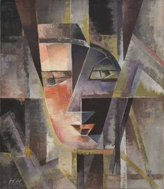 Hannah Höch  Head (Kopf), 1946 Oil on canvas