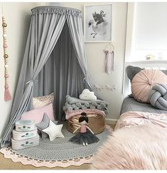 Teepee Girls room