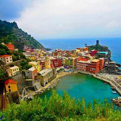 5 terres. Italie