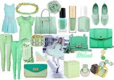 Rouge Attitude: 10 tavaszi trend Essie, Attitude, Polyvore, Fashion, Mint, Red, Moda, La Mode, Fasion