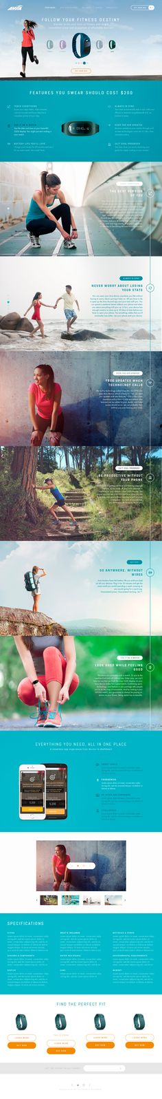 WIP. Website design concept for a sporting goods c – SiteUp