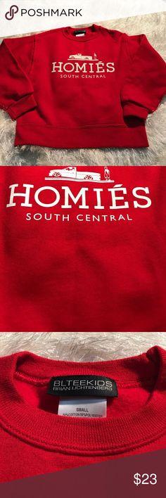 Homies Homies SOUTH CENTRAL crew neck sweatshirt brian litchenberg Shirts & Tops