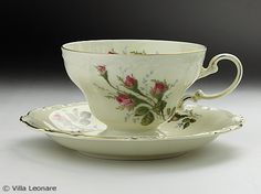 Rosenthal moss rose cup and saucer