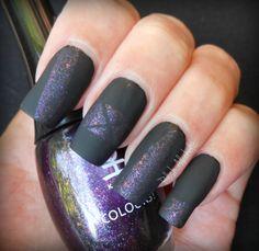 Koh Purple Universe mattified  polishalcoholic.com