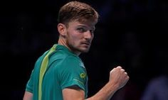 First ATP FINAL! David Goffin def Federer in knock-out SFs stage of the prestigious year-end tournament in London to advance to his 1st WTF Final.... Improves to 1-6 H2H v Federer  '...rallying from a set down on a stage where Federer has played so extraordinarily well down the years. Goffin becomes only the sixth player ever to defeat Federer and Rafael Nadal at the same event.'…
