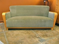 Shop settees and other antique and modern chairs and seating from the world's best furniture dealers. Vintage Sofa, Vintage Modern, Skandinavisch Modern, Florence Knoll, Sofas, Couches, Antik Sofa, Cool Furniture, Modern Furniture