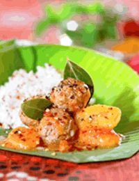 Kela Kofta - Indiske kødboller med banan
