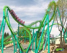 Hydra the Revenge - Dorney Park & Wildwater Kingdom (Allentown, Pennsylvania, United States) Best Amusement Parks, Amusement Park Rides, Dorney Park, Kings Island, Cedar Point, Roller Coasters, Revenge, Pennsylvania, Outdoor Gardens