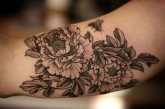 Beautiful Peony Tattoo Designs and the Meaning behind them! | INKEDD