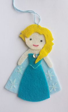 Hanging air freshener made from felt! All of my hanging air fresheners are handmade and designed by me! These are great to use with your essential oils