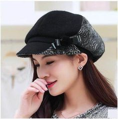 56d819d5900 40 Best winter wool newsboy cap for women images