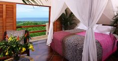 Awaken to fantastic views of the Pacific in Costa Rica.