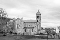 Mount St. Mary's University Chapel Print by University Icons.  All prints are professionally printed, packaged, and shipped within 3 - 4 business days. Choose from multiple sizes and hundreds of frame and mat options.
