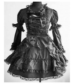Gothic Costume (Lolita Style) Doll