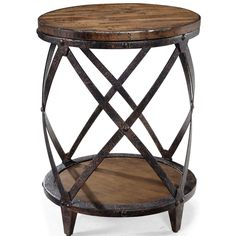 MG-T1755-35 Magnussen Pinebrook Round Accent Table