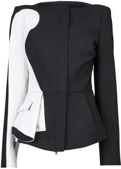 Shop Women's Antonio Berardi Casual jackets on Lyst. Track over 131 Antonio Berardi Casual jackets for stock and sale updates. Fashion Wear, Love Fashion, Fashion Outfits, Womens Fashion, Fashion Trends, Antonio Berardi, Fashion Details, Fashion Design, Blazers