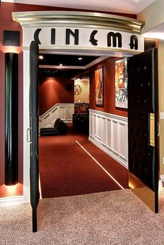 More ideas below: DIY Home theater Decorations Ideas Basement Home theater Rooms Red Home theater Seating Small Home theater Speakers Luxury Home theater Couch Design Cozy Home theater Projector Setup Modern Home theater Lighting System Home Cinema Room, At Home Movie Theater, Home Theater Rooms, Home Theater Design, Home Theater Seating, Movie Hall, Office Seating, Media Room Design, Family Room Design