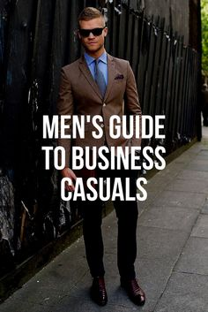 Business Casual Outfit Ideas For Men. #mensfashion #menswear #fashion #style #fashionblogger
