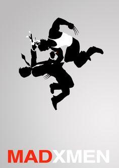 MadXMen    Mad Men / X-Men mashup    byAlex Ryanfordraw2d2