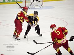 Sports Photography. Youth Ice hockey, Sweden.