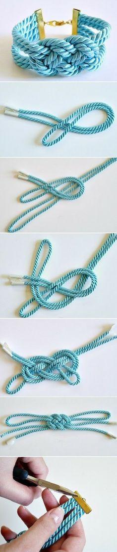 Relasé: Bijoux Fai da Te - un bracciale bicolore di cordone