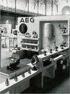 AEG, Deutscher Werkbund exposition. 1927