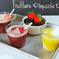 Fruttare Popsicle Drinks - perfect for summer